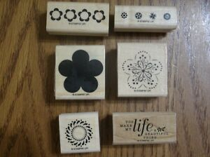 """Stampin' Up """"A Beautiful Thing"""" retired stamp set"""