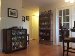 Spacious 1-bedroom executive apartment or 2-bedroom with den