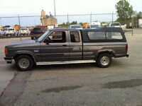 1991 Ford Ranger xlt extended cab Pickup Truck -parts only truck