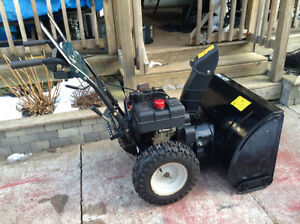 8hp snowblower with electric starter