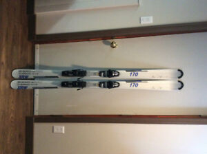 Downhill Skis, boots and poles
