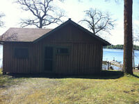 Waterfront Cabin on Lake of the Woods available for the season.