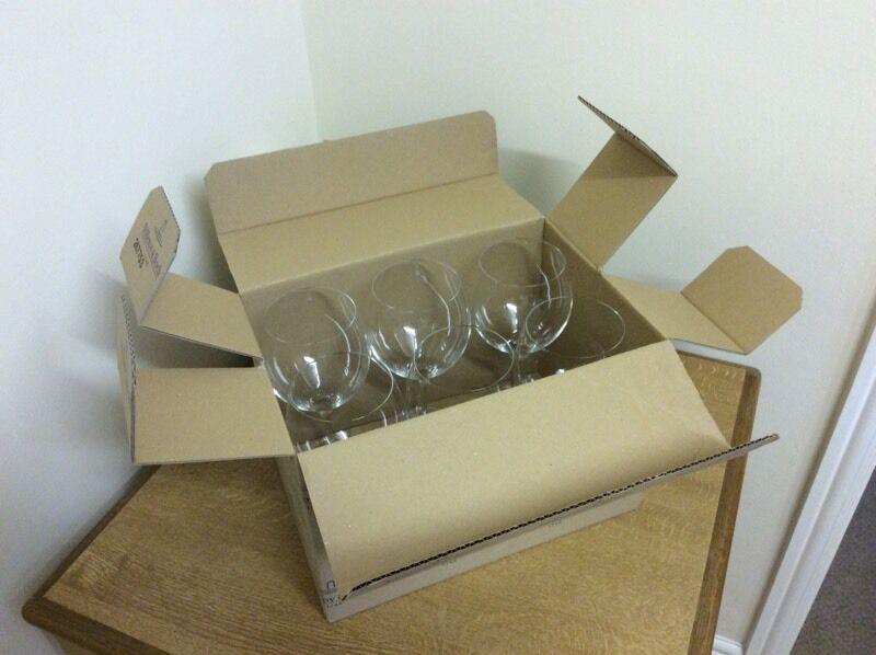 6 large wine glasses (Villeroy & Boch)