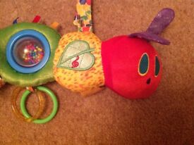 The Very Hungry Caterpillar attachable activity toy