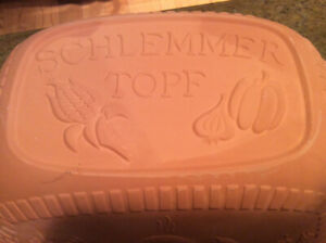 Schlemer Topf German Clay Roaster - New