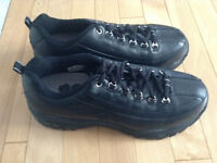 Once worn Leather Skechers Safety Shoes ( Size 9 US )