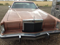 1978 Lincoln Continental mark V one owner