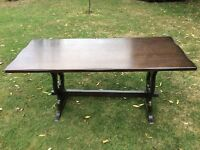 Refectory dinning table