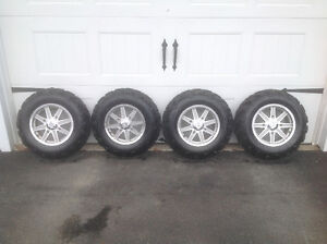 Polaris Aluminum Rims + NEW Tires