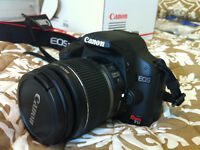Canon Rebel T1i (video capability) with Canon Zoom Lens 18-55mm