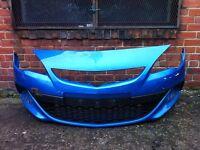 Vauxhall Astra VXR 2014 2015 genuine damaged front bumper for sale