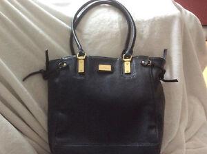 "Gorgeous Black Leather Like, ""LULU"" Lulu Guinness***Price Drop**"