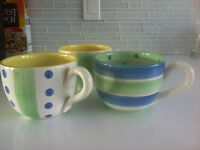 Oversized Coffee Cups