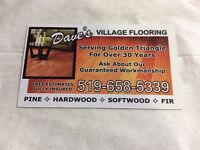 No Job Too Big or Too Small ! HARD WOOD  FLOORING, SPECIALIZING