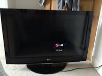 LGHD LCD TV 37 inch. 1080p with free view. 37LH3000