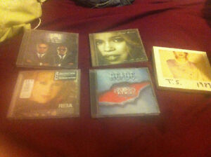 5 different CDs
