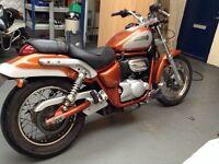 Aprillia classic. Custom 125cc
