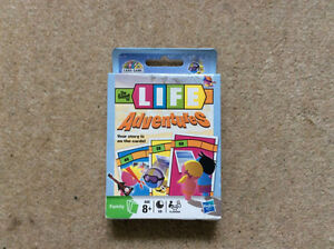 Game of LIFE Adventures-Family Card Game