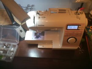 Brother Computerized 50 stitch sewing & quiting nachine