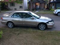 2001 Honda Accord - NEW Clutch and Brakes