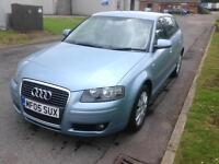 2005 Audi A3 1.6 Special Edition Sportback. FULL LEATHER. FSH.