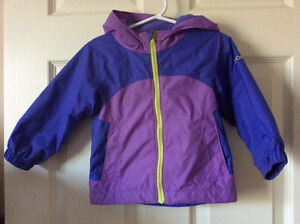 EUC - Columbia Spring/Fall Jacket with Hood (size 2T)