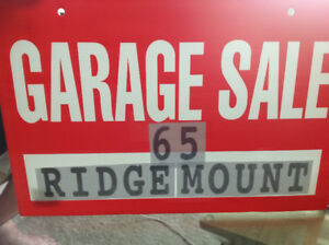 GARAGE SALE 65 RIDGEMOUNT, ETOBICOKE,SATURDAY AUGUST 18. 7:00 Am