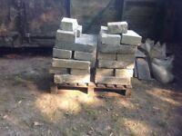Concrete building blocks (used)