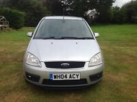 Ford C-Max 2004 with 12 months MOT