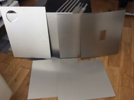 IKEA Fastbo kitchen splash back panels