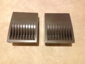347/240V bronze led wall packs