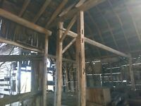 Barn Beams and boards