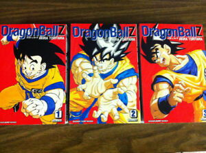 Dragon Ball Z Manga Vol. 1-9