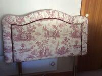 Single bed head board £5