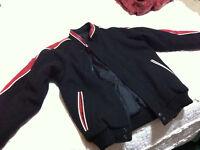 Boys Jacket - Felt & Leather