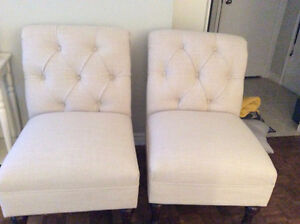 Sofa Chairs (Set of Two)