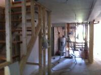 Rénovation générale, travail propre, rapide et minutieux