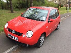 2002 Volkswagen Lupo 1.4 S Automatic-22,000-full service history-12'months mot-2 owners-mint