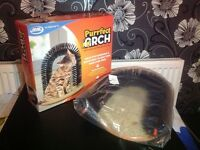 Brand new sealed purrfect arch cats massager