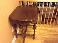 Beautiful antique entrance table