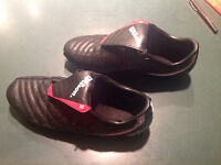Size L... Soccer cleats by WILSON...LIKE NEW