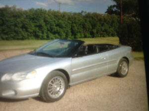 2004 Chrysler Sebring Lxi Convertible
