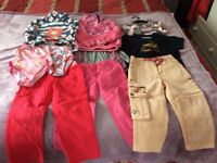 Bundle of Girl's 2-4 yrs clothes