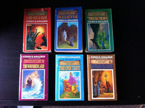 The Chronicles of Thomas Covenant (2 trilogies) for Sale