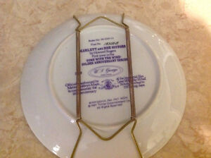 """4 """"Gone With The Wind"""" collector plates Peterborough Peterborough Area image 4"""