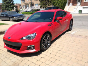 2014 Subaru BRZ sport tech package