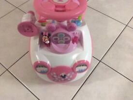 Pink Disney First Car