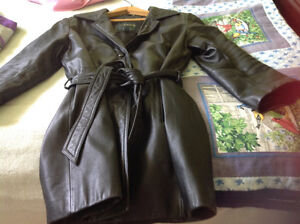 Daniel leather coat