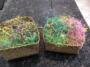 Easter Baskets with stuffing