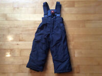 Gusti navy blue snowpants size 3